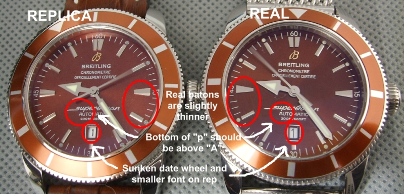 A GUIDE TO IDENTIFYING FAKE BREITLING WATCHES  SOHcompare
